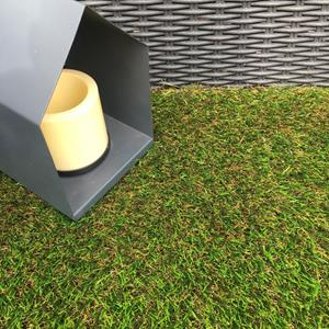 Artificial Grass Remnant Offcut 32mm Thick Sudbury Tri Colour Luxury 3.6m x 4m