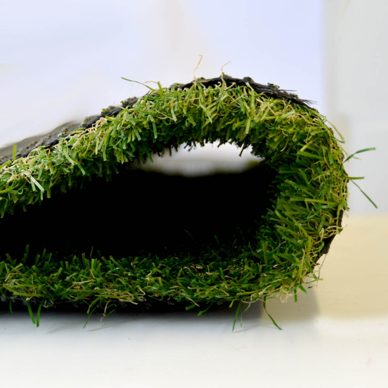 Artificial Grass Remnant Offcut 30mm Thick Elma Tri Colour Luxury 3.9m x 2m