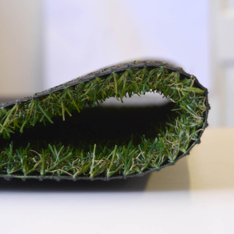 Artificial Grass Remnant Offcut Marla 20mm Thick Tri Colour 5.5m x 2m