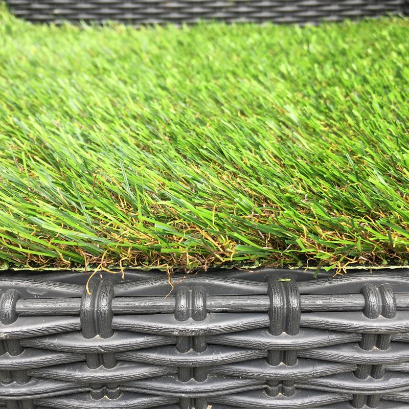 Artificial Grass Remnant Offcut 32mm Thick Sudbury Tri Colour Luxury 4.2m x 4m