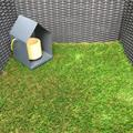 Witney Artificial Grass - 40mm Thick Quality Tri Colour Lawn  - Long Pile